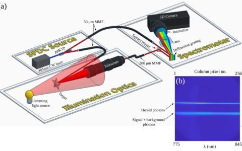 Multidimensional quantum illumination via direct measurement of spectro-temporal correlations