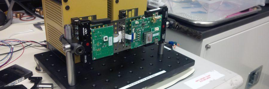 MPPC test set-up